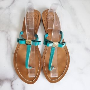 Tory Burch 7.5 Leighanne Bow Sandals
